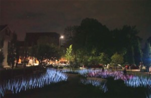 Georgetown will light up with displays from five artists including Latent E Scapes, shown above. (Photo; ULR and Sho)