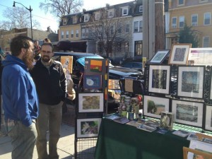 The 800 block of Upshur Street NW will host an arts and crafts street fair. (Photo: Petworth Business Association)