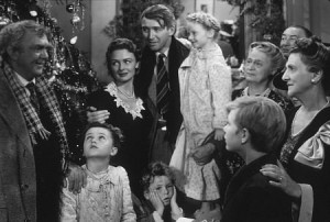 """Jimmy Stewart in a scene from """"It's a Wonderful Life."""" (Photo: MPTV)"""