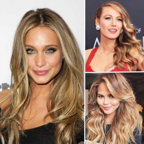 George Papanikolas says brondes, a mixure of brunette and blonde, will be popular this year. (Photos: Getty Images and Pinterst)