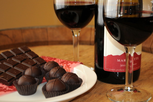 The Park Hyatt Washington is offering a wine and chocolate class on Feb. 6. (Photo: The Wine Country)