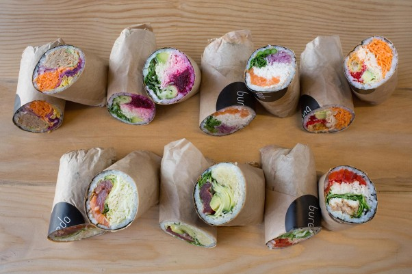 Buredo will open a second burito-sized sushi roll restaurant in Dupont. (Photo: Buredo)