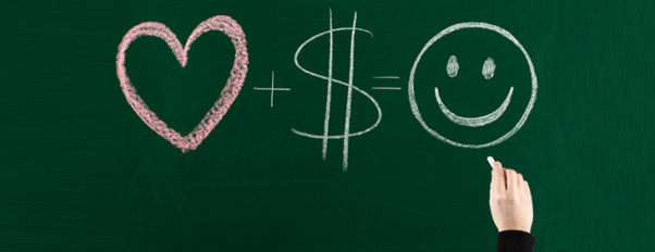 You don't need money for happy relationship, but it sure could help! (Photo: Getty Images)