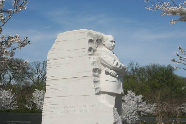 The Martin Luther King Jr. Memorial (Photo: Mark Heckathorn/DC on Heels)
