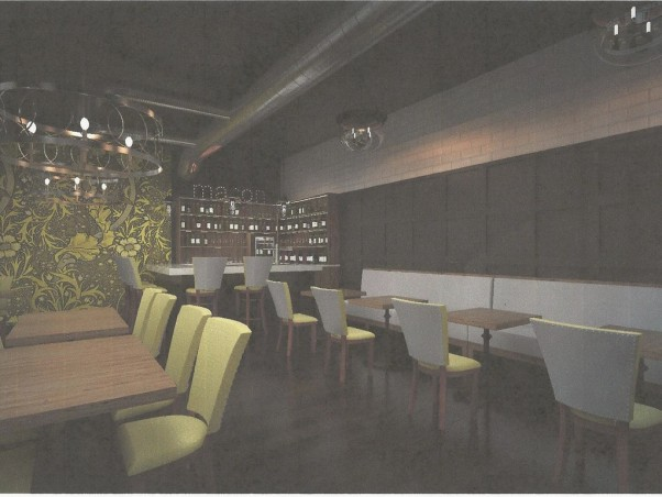 Macon Bistro is adding the private Magnolia Room for parties and events. (Rendering: Macon Bistro & Larder/Facebook)