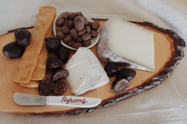 Take a class on cheese, chocolate and Champagne together at Righteous Cheese. (Photo: Righteous Cheese)