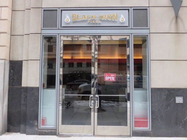 Black Iron Pizza downtown closed Feb. 1. (Photo: Andrew C./Yelp)
