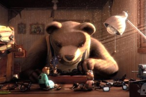 """Bear Story"" is among the Oscar-nominated animated shorts screening at the National Archives at 3:30 p.m. Saturday. (Photo: Punkrobot Animation Studio)"