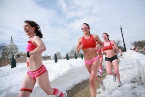 Strip down to your skivvies for a good cause at the annual Cupid's Undie Run. (Photo: Cupid's Undie Run)