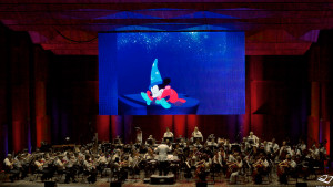 "the Czech National Symphony Orchestra will perform along with scenes from ""Fantasia."" (Photo: Derek Brad Photography)"