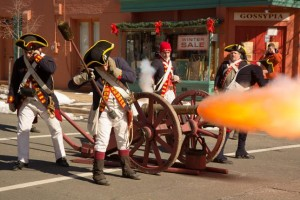 It's George Washington's birthday, and Old Town Alexandria is celebrating with a parade in his honor! (Photo: The Georgetowner)