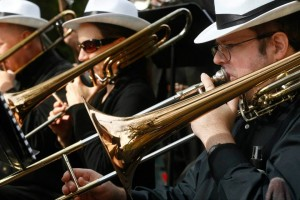 Boogie woogie this weekend with the Rockville Concert Band (Photo: Bethesda Magazine)