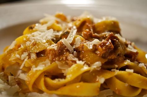 Fresh made tagliatelle bolognese at one of the New England Alta Strada restaurants. (Photo: Alta Strada/Facebook)