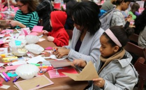 It's time to DIY your Valentine's Day cards at the National Postal Museum. (Photo: The Smithsonian)