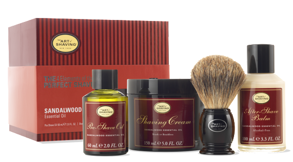 Your man will appreciate this  4 Elements of the Perfect Shave Full Size Kit long past Valentine's Day. (Photo: The Art of Shaving)