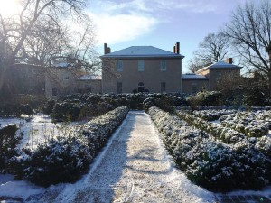 Explore the grounds of Tudor Place, a historic home once owned by a granddaughter of Martha Washington. (Photo: Tudor Place Historic House and Garden)