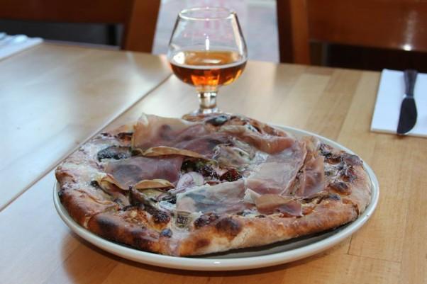 Pizzeria Paradiso has a special cherry pizza on its menu through Apr. 4. (Photo: Pizzeria Paradiso/Facebook)