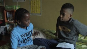 """In the Path of My Father,"" which was directed by Raseph ""Ra"" Wright, 14, and co-edited by his sister Sia Wright, 11,of D.C. and produced by an all-youth crew, tells the personal story of two brothers growing up in D.C. without their father. (Photo: Meridian Hill Pictures)"