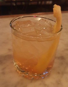 Macon Bistro and Larder will be serving six drinks made with Chartreuse including Light My Fire (pictured). (Photo: Macon Bistro & Larder)