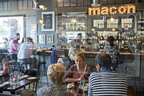 Macon Bistro and Larder is hosting a 7 Locks Brewing tap takeover during May. (Photo: Scott Suchman)