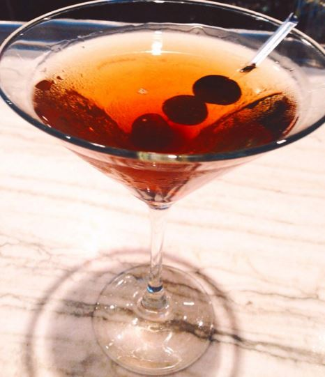 Cafe Dupont and Bar Dupont are mixing up cherry Manhattans. (Photo: Bar Dupont/Instagram)