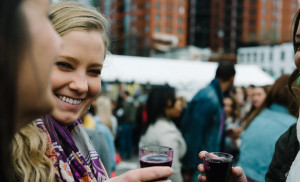 Get outside and sample over 100+ different beers and wines at Drink the District's Cherry Blossom Beer and Wine Festival. (Photo: DC After Five)