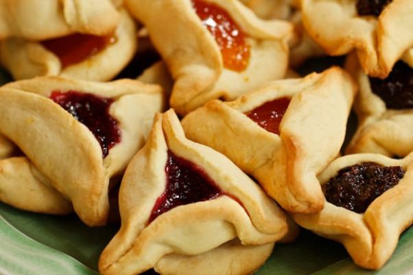 Commissary's Pre-Purim Palooza from 7-9 p.m. on Monday features an Israeli buffet with three kinds of hamantaschen. (Photo: Kosher Like Me)
