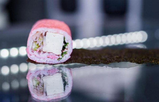 The Maki Shop is offering a Spring Blossom sushi hand roll. (Photo: Joy Alisco)