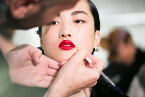 Bold red lipsticks were a big hit on the runways. (Photo: mshelene.com)