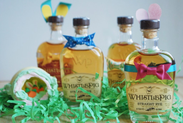 At Bourbon Steak, adults can participate in a free WhistlePig Whiskey Easter-bottle hunt. (Photo: Bourbon Steak)