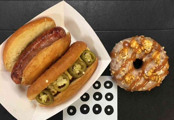 Astro Doughnuts & Fried Chicken will offer baseball-themed sausage sandwiches and doughnuts on Thursday for the Nationals' home opener. (Photo: Astro Doughnuts & Fried Chicken)
