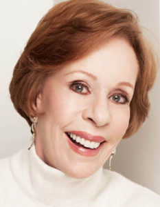 Carol Burnett brings her one-woman show to Strathmore Friday and Saturday nights. (Photo: Strathmore)