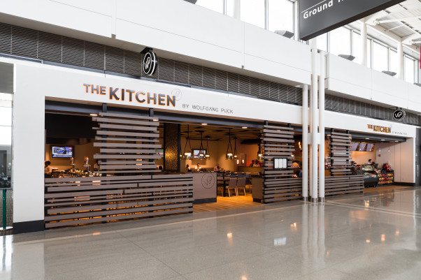 The Kitchen by Wolfgang Puck opened recently at Dulles International Airport. (Photo: J. David Buerk Photography)