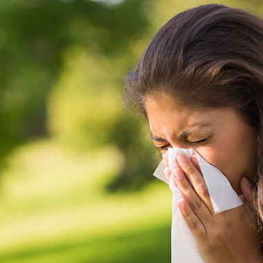 A string of warm days early this year tricked trees into blooming early, setting off an early allergy season. (Photo: Thinkstock)
