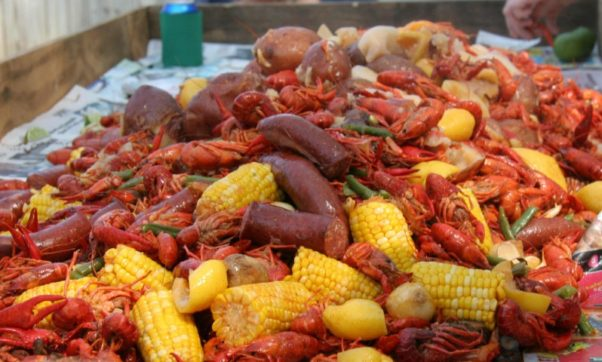 Pearl Dive Oyster Bar will host its final crawfish boil on Saturday, June 18. (Photo: Tualatin Crawfish Festival)