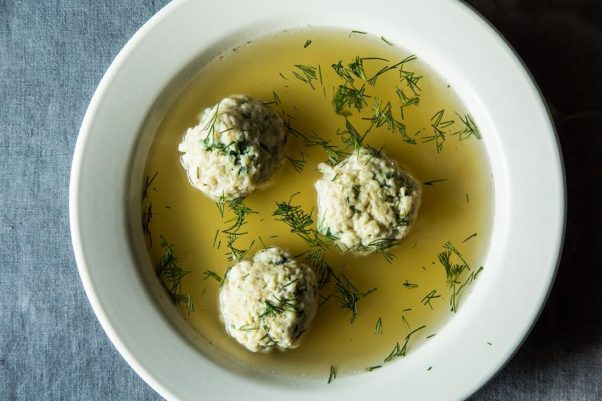 Met Bethesda is serving three specials for Passover including matzo ball soup. (Photo: James Ransom)