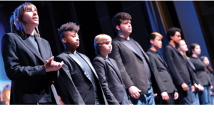 The Gen OUT LGBTQ Youth Chorus will perform along with the Rock Creek Singers at a benefit for the Rainbow Youth Alliance on Saturday. (Photo: Gay Men's Chorus of Washington)