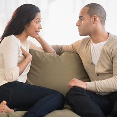 Communicate the good and the bad in your relationship. (Photo: Getty Images)