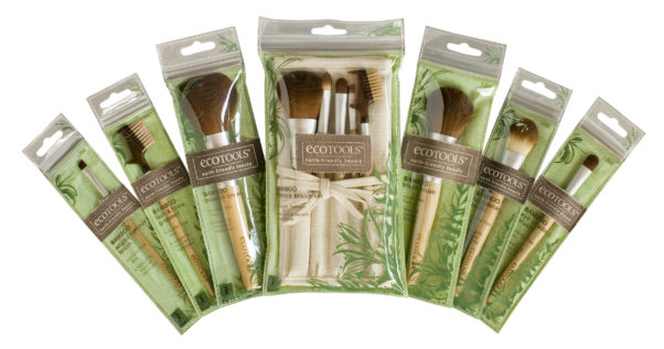 Ecotools offers makeup brushes and bath products that you can feel good about. (Photo: Ecotools)