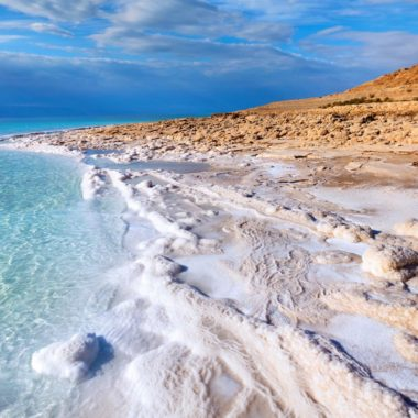 The Dead Sea is renowned for its skin-rejuvenating properties. (Photo: Zaman Tours)