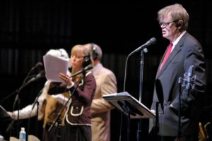 "Garrison Keillor will broadcast his last ""A Prairie Home Companion"" from Wolf Trap this weekend. (Photo: Wolf Trap)"