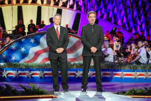 Actors Joe Mantegna and Gary Sinise host the National Memorial Day Concert on Sunday. (Photo: Paul Morigi/Getty Images for Capitol Concerts)