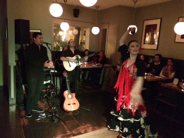 Vinoteca will host a special flamenco show on Sunday. (Photo: Vinoteca)