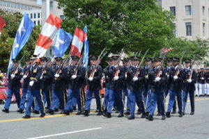 The National Memorial Day Parade marches down Constitution Avenue beginning at 2 p.m. Monday. (Photo: American Veterans Center)