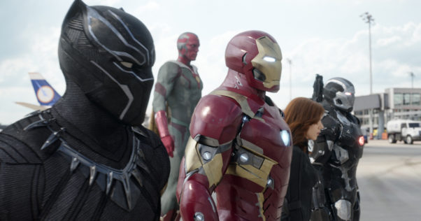 """Captain America: Civil War"" lead for the second weekend with $72.64 million. (Photo: Film Frame/Marvel"