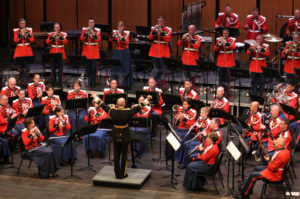 The United States Marine Band performs at Wolf Trap's 2016 Summer Blast Off on Sunday. (Photo: Wolf Trap)