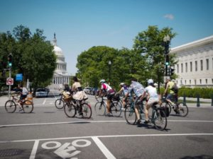About 8,000 cyclists are expected for D.C. Bike Ride on Sunday. (Photo: D.C. Bike Ride)