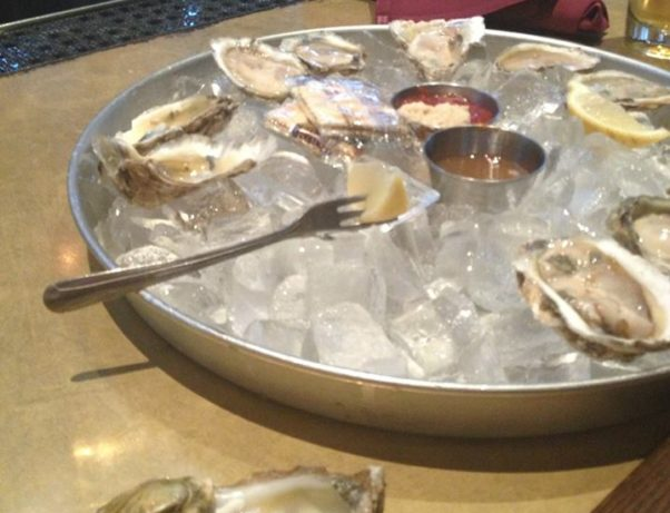Bastille will serve Virginia oysters on its patio from 5:30-7:30 p.m. Wednesday. (Photo: Dragon Creek Aqua Farm)