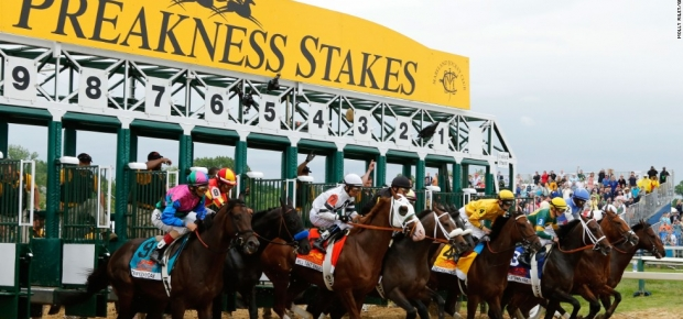 The 141st Preakness Stakes comes to the Pimlico Race Course in Baltimore on Saturday. (Photo: Getty Images)