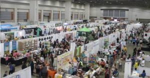 The Green Festival is back at the convention center this weekend promoting an environmentally-friendly lifestyle. (Photo: Green Festival)